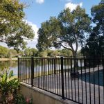 residential aluminum fence installation in orlando