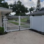 commercial aluminum fence in oralndo
