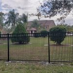 commercial aluminum fence installation in orlando