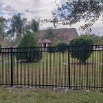 commercial aluminum fence installation in orlando