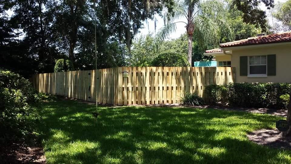 high quality fence building near Orlando Florida