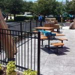 aluminum fence installation in orange county florida