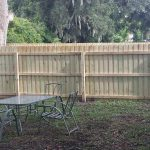yard fencing setup in Orlando Florida