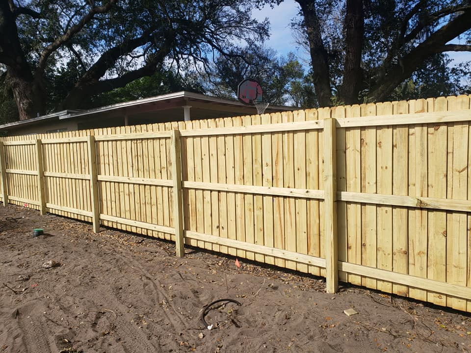 Commercial fence services near Lake Hart, Florida