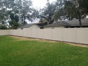 Residential fence contractor near Tildenville