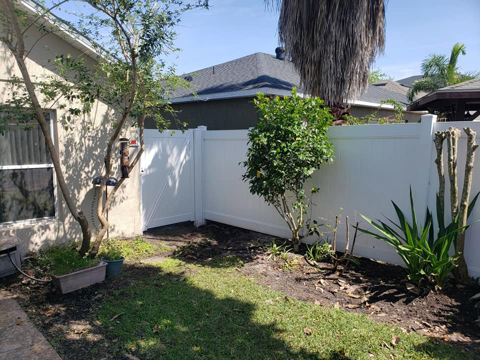 best company for vinyl fence installations in orlando